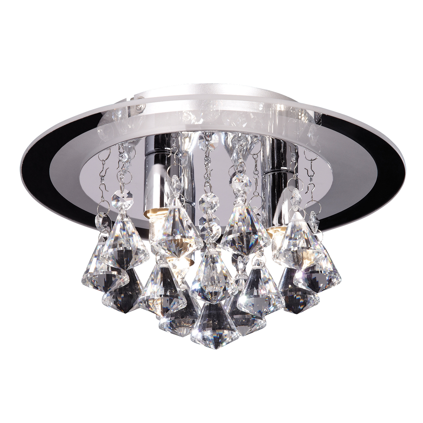 Endon RENNER-3CH Ceiling Light G9 3x33W