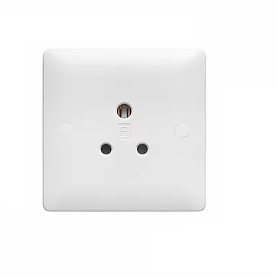 Verso 1G 5A UN-SWITCHED SOCKET