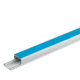 Tees Self Adhesive Mini Trunking YT4 SA4 40mm x 25mm Coupler /& Ends Bends