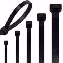 Extra Heavy Range Cable Tie Black 480mm