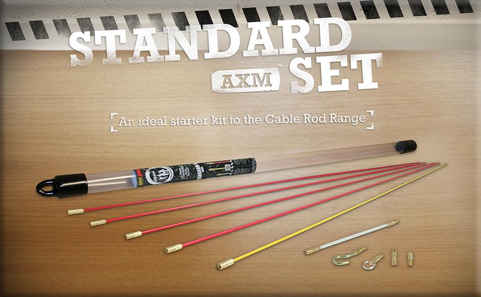 Super Rod CRSS Standard Cable Rod Set 5m