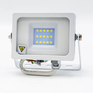 V-TAC 10W LED Floodlight White Body SMD 6400K