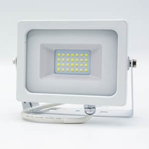 V-TAC 20W LED Floodlight White Body SMD 6400K