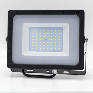 V-TAC LED SMD Floodlight 6000K 50W Black Body.