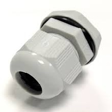 Cable Glands - White Nylon 20mm Glands