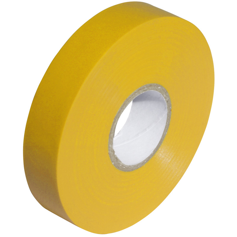 PVC TAPE 19mm x 33mm Yellow